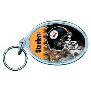 Pittsburgh Steelers Nfl Acrylic Key Ring  Sports