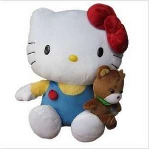 hot christmas gift plush hello kitty cat toy + Toys & Games