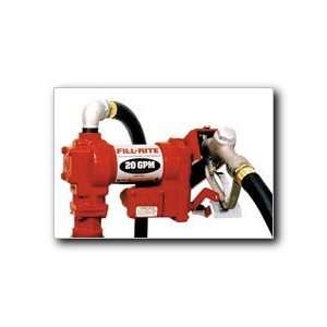Fill Rite Fuel Transfer Pump   12 Volt, 20 GPM, Model# FR4210DNT