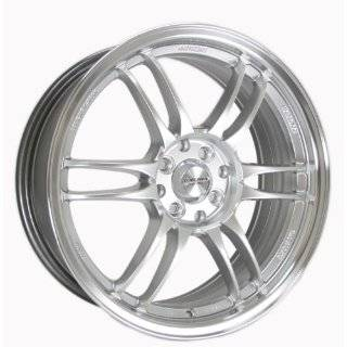 Kyowa Racing Series 206 Hyper Silver   17 x 7 Inch Wheel Automotive
