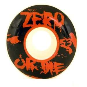 Zero Zero or Die Skateboard Wheels (53mm) Sports