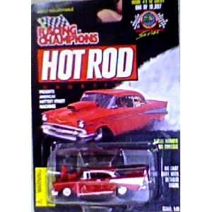 Hot Rod Magazine Drag Racing Series Issue #1 57 Chevy  Toys & Games
