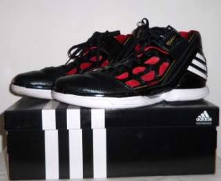 ADIDAS adiZero Rose 2 Black Red DERRICK Chicago Bulls BASKETBALL SHOES