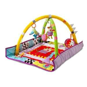 Taf Toys Kooky Activity Gym Play Mat with Raised Side Panels Provide
