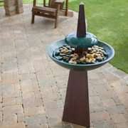 Outdoor Water Fountain Kenroy Equinox Garden Indoor/Outdoor Water