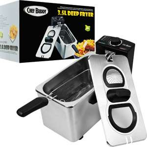 Chef Buddy 3.5L Deep Fryer Appliances