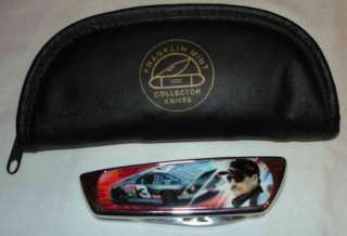 FRANKLIN MINT DALE EARNHARD COLLECTOR KNIFE IN CASE