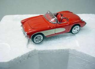 1957 CORVETTE Convertible Franklin Mint Precision Models Collectable