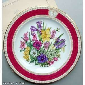 Franklin Mint Princess Juliana Birthday Plate