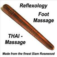Reflexology Foot Massage Thai Massage Stick Hardwood   Handcrafted in