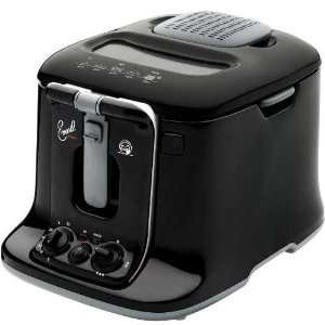 Emerilware Black 3 Liter Electric Deep Fryer
