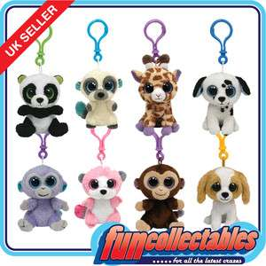 Clips   Choose Your 2 Inch Boo Clip On Character Soft Plush Toy