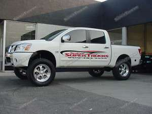 2004 2012 NISSAN TITAN 2WD CST SUSPENSION 8 LIFT KIT COMPLETE